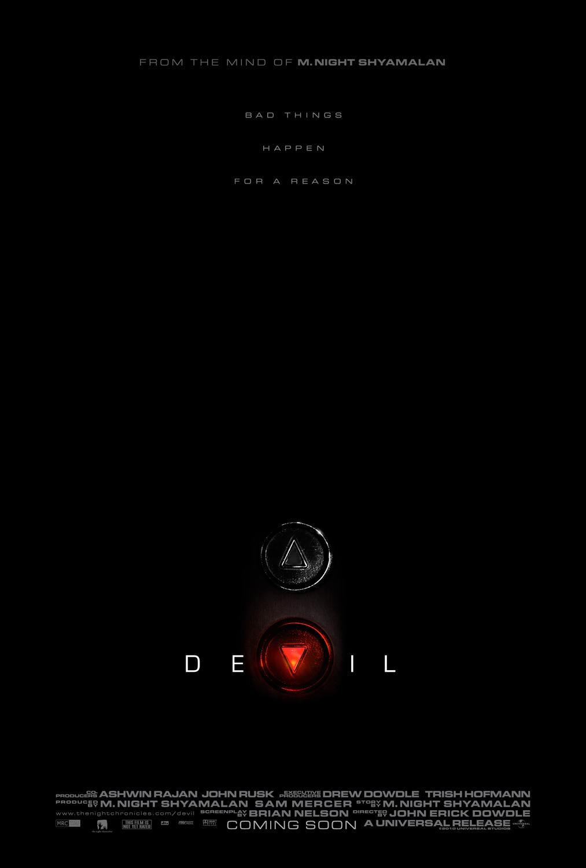 'Devil' trailer og poster er nu ude