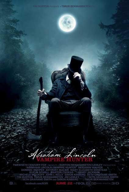 'Abraham Lincoln: Vampire Hunter' traileren er kommet