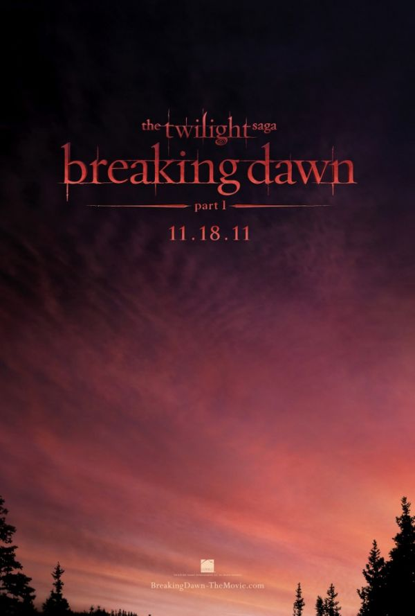 'The Twilight Saga: Breaking Dawn Part 1' teaser poster ude