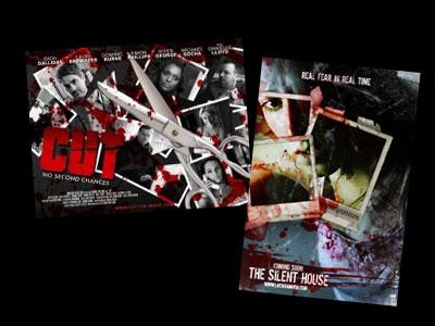 Hele to nye horrorfilm, der er skudt i én omgang