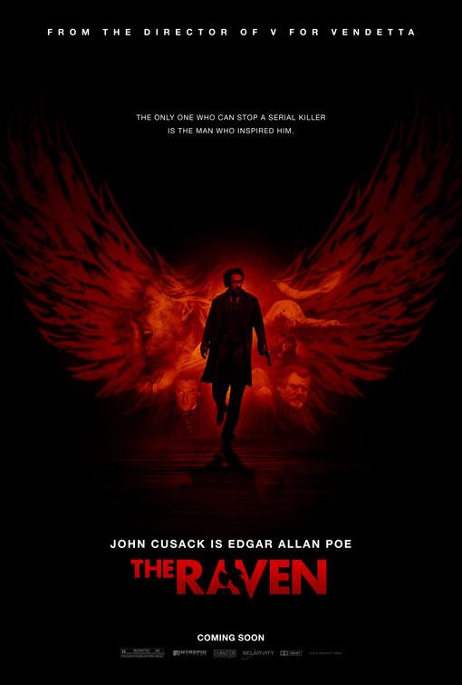 'The Raven' spiller KUN i aften
