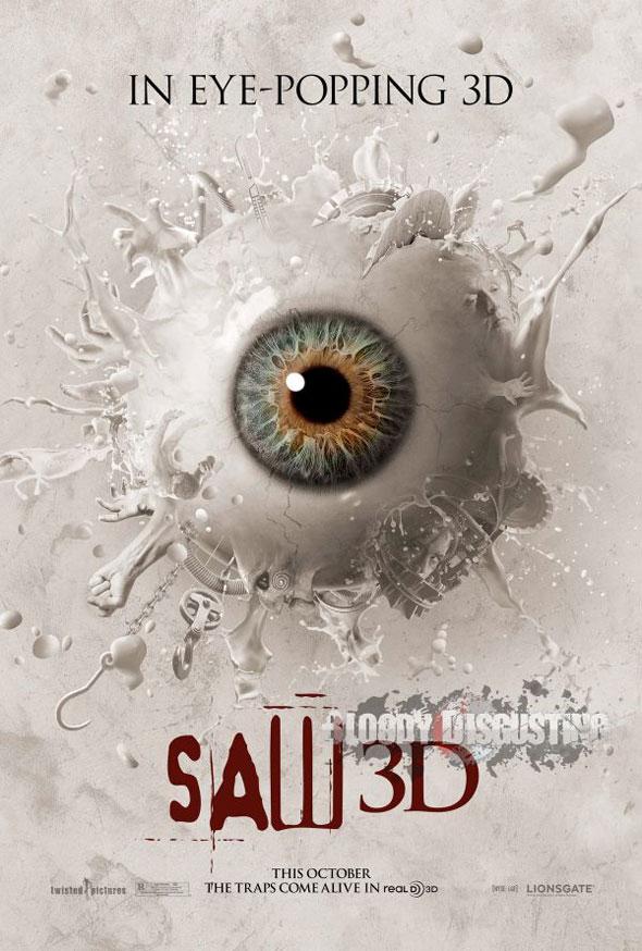 'Saw 3D' teaser trailer nu ude