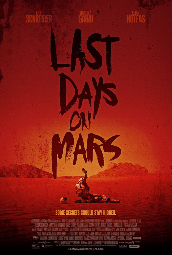 Trailer til 'Last Days on Mars'