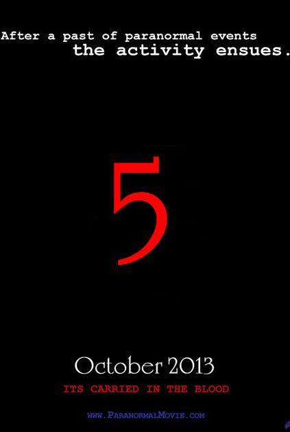 Bliver Paranormal Activity 5 rykket til 2016?