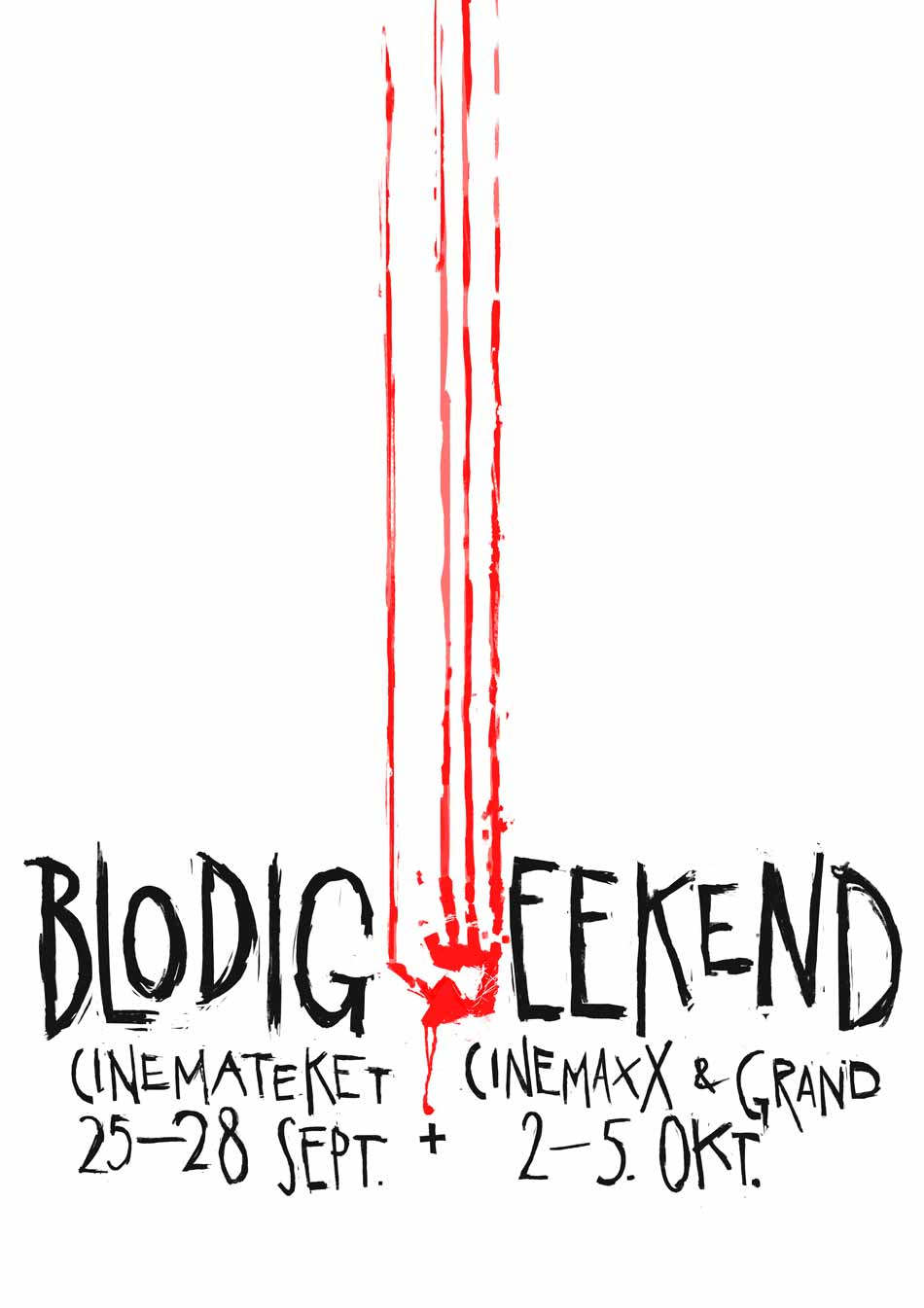 Programmet til Blodig Weekend 2014