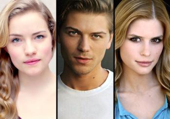 Nogle af de medvirkende i MTVs Scream serie.