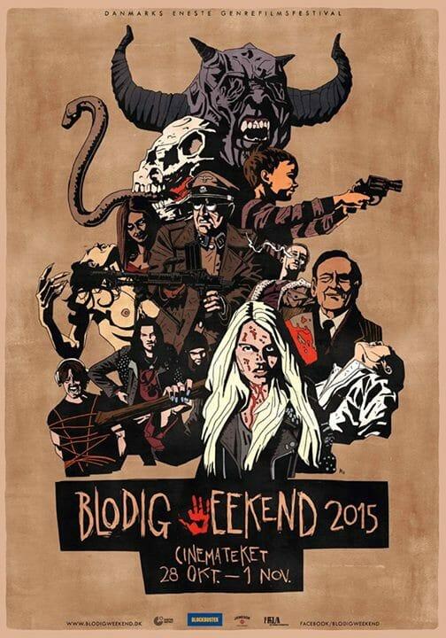 Blodig weekend 2015 programmet