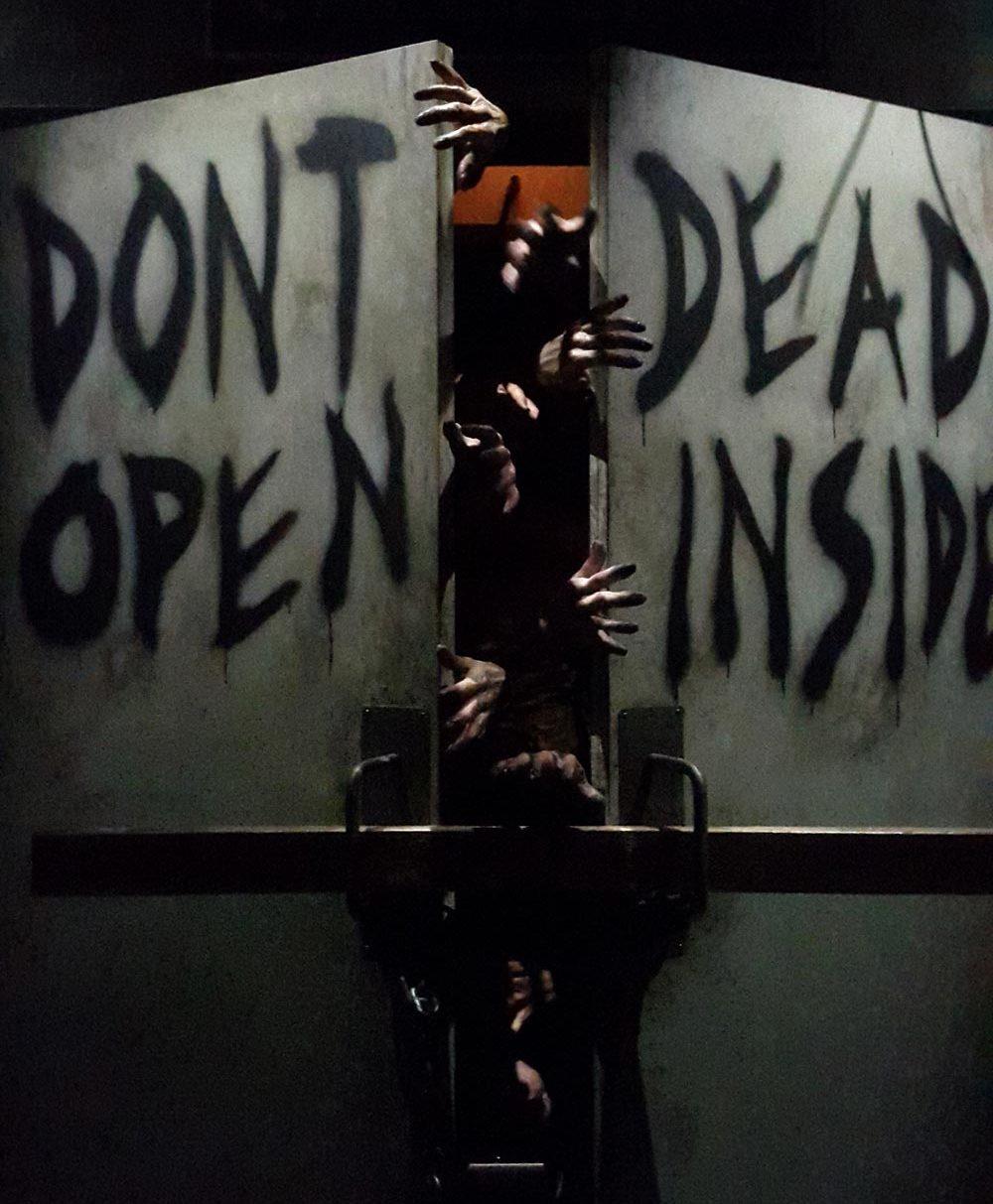 The Walking Dead forlystelsen i Universal Studios