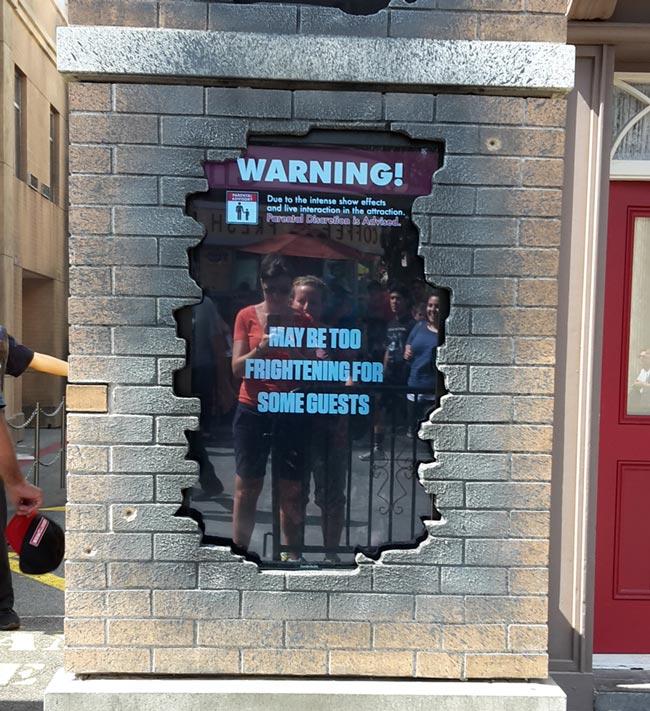 'The Walking Dead' forlystelsen i Universal Studios