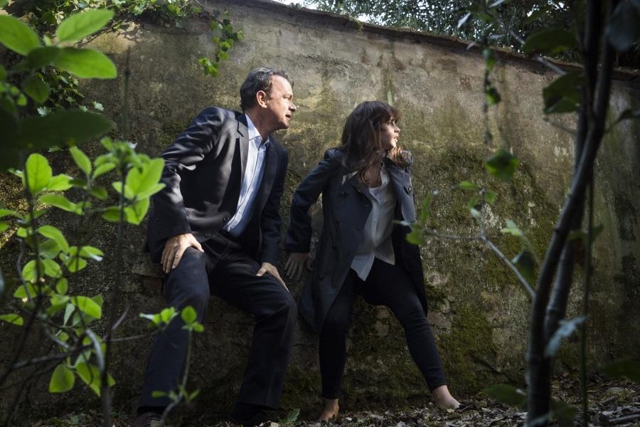 Tom Hanks og Felicity Jones