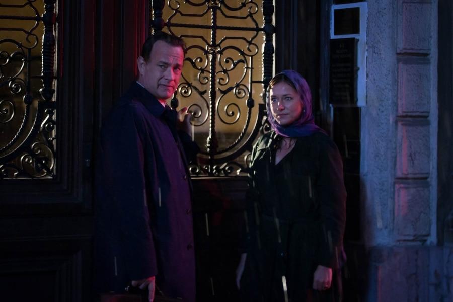 Tom Hanks og Sidse Babette Knudsen
