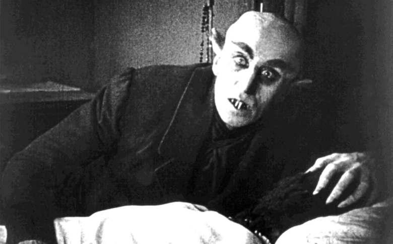 """Max Schreck i """"Nosferatu"""""""
