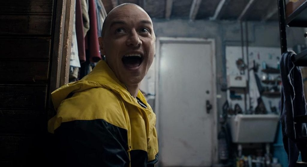Split filmanmeldelse - M Night Shyamalan - James McAvoy