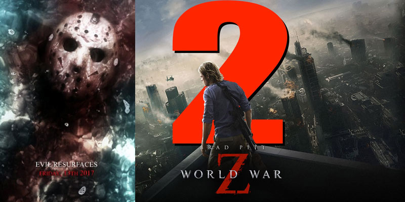 'Friday the 13th' og 'World War Z 2' fjernes fra premierelisten