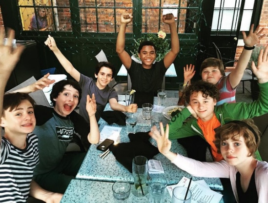 Børnene fra Losers Club i IT (2017)