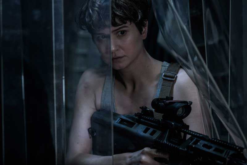 Katherine Waterston i Alien: Covenant