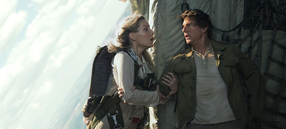 The Mummy - Tom Cruise og Annabelle Wallis