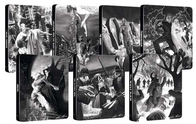 De gamle Universal-monsterfilm udkommer på Blu-ray (limited steelbook)