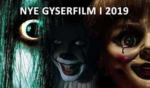 Nye gyserfilm i 2019