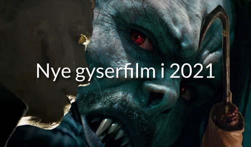 Nye gyserfilm i 2020