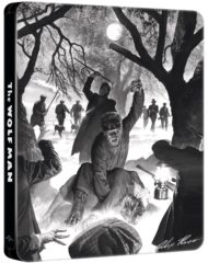 The Wolf Man – limited steelbook blu-ray