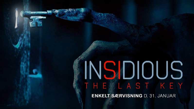 Se 'Insidious 4: The Last Key' i biografen KUN én dag