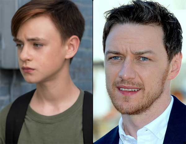 Bill Denbrough: James McAvoy