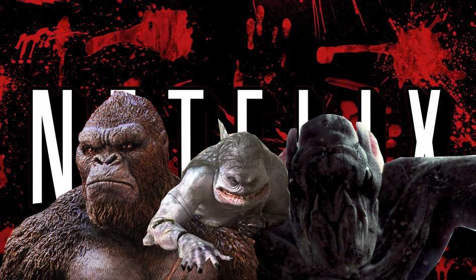 De 5 bedste monsterfilm på Netflix