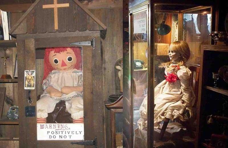Annabelle i museum