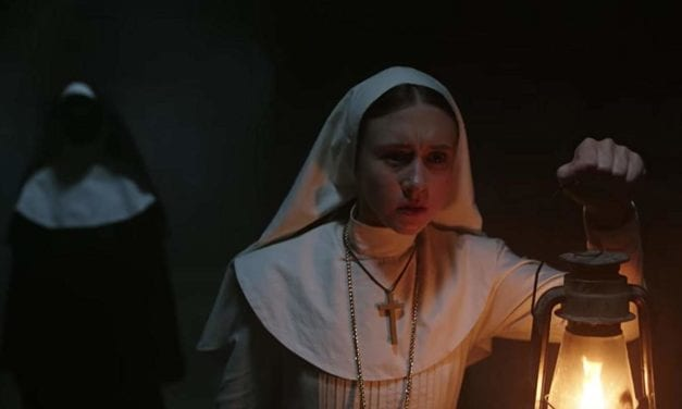 Se THE NUN klippet, der blev forbudt på Youtube