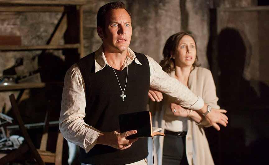 Patrick Wilson og Vera Farmiga i The Conjuring
