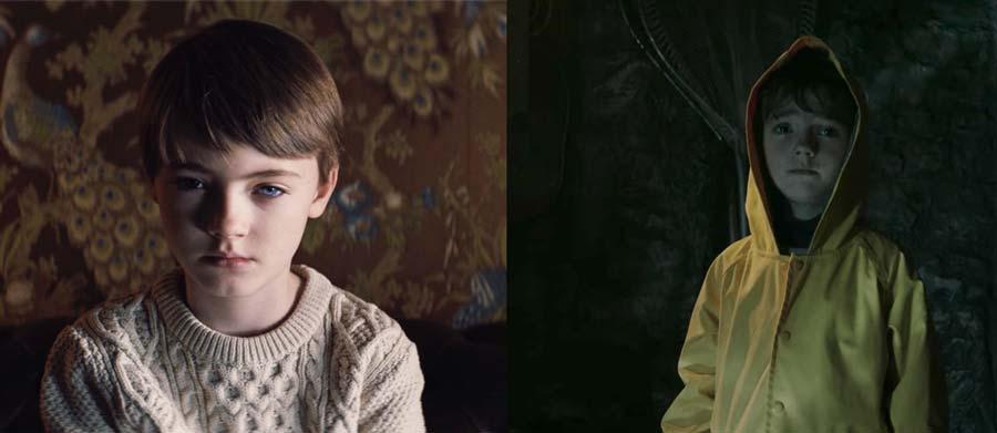 Jackson Robert Scott som Miles og Georgie