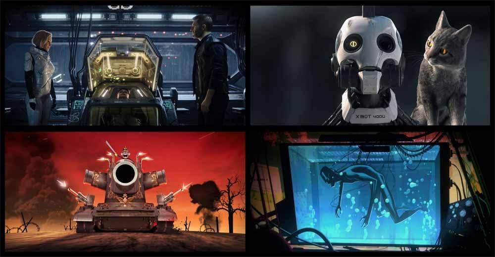 Love, Death & Robots (2019) anmeldelse Netflix serie