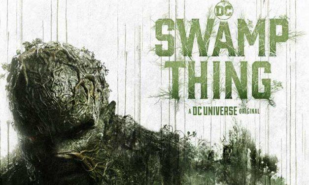 SWAMP THING serien kommer til Danmark!