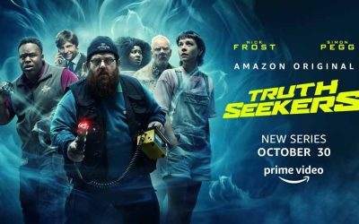 Truth Seekers – ny gyserkomedie-serie fra Simon Pegg & Nick Frost