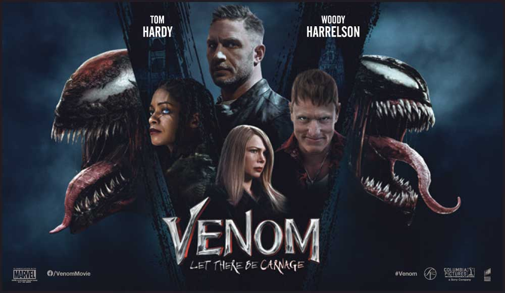 Venom 2: Let There Be Carnage – Anmeldelse (3/6)